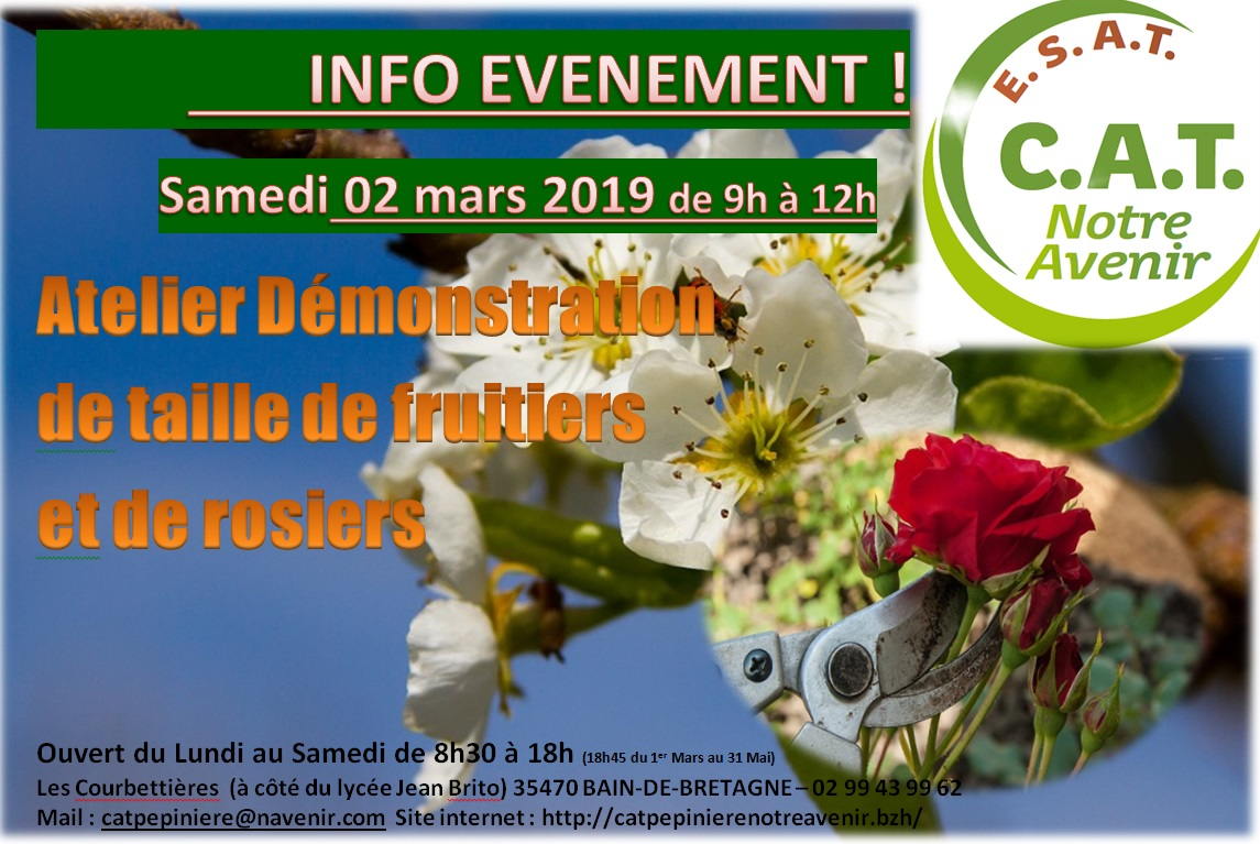 demo taille fruitiers 2019