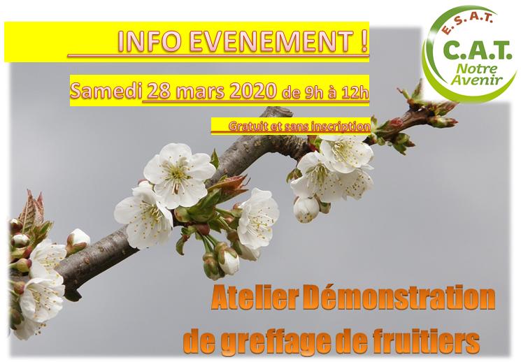 Démo greffage fruitiers 28032020