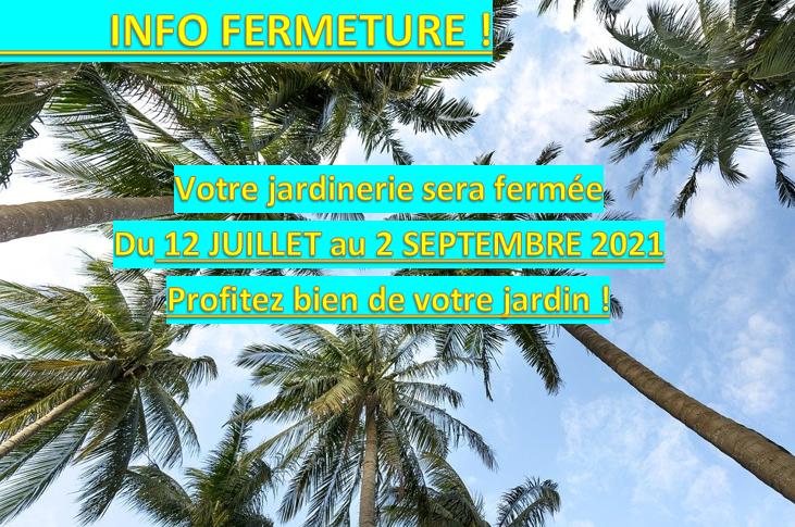 Info fermeture